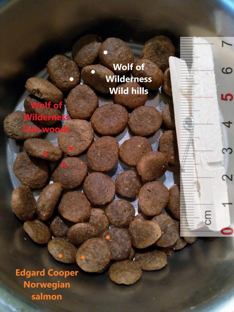 Wolf of Wilderness Wild Hills, Wolf of Wilderness Oak Woods, Edgard Cooper Norwegian Salmon